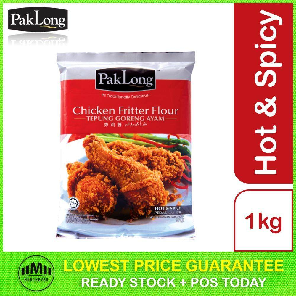 Pak Long Chicken Fritter Flour, Hot & Spicy (1kg)