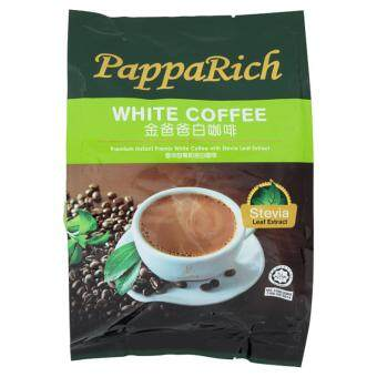 Harga PappaRich Premium Instant Premix White Coffee with Stevia Leaf Extract (12pcs x 30g) 360g