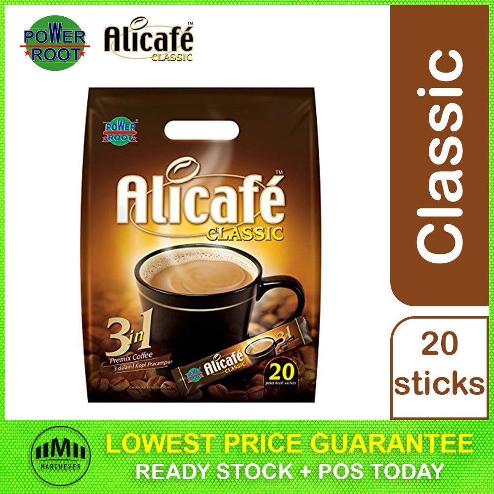 POWER ROOT Alicafe Classic Premix Coffee Instant 3 in 1