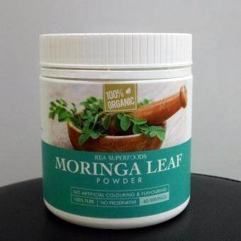 Harga Rea Superfoods Organic Moringa Leaf Powder 120g