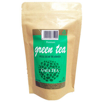 Harga Red Leaf Premium Green Tea Bag (100% Full Leaf Tea)
