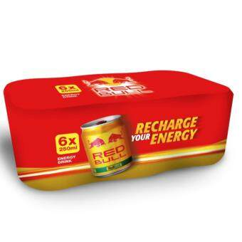 Harga REDBULL - RED BULL GOLD 1X6 CANS (250ML EACH)