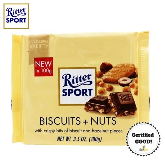Ritter Sport Biscuits + Nuts 100g