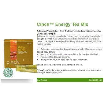 Shaklee Cinch Energy Tea Mix {FREE SHIPPING} 1X28 sticks -Meningkatkan Tenaga dan metabolisma (Natural Energy Booster) - 4