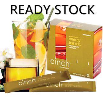 Shaklee Cinch Energy Tea Mix {FREE SHIPPING} 1X28 sticks -Meningkatkan Tenaga dan metabolisma (Natural Energy Booster)