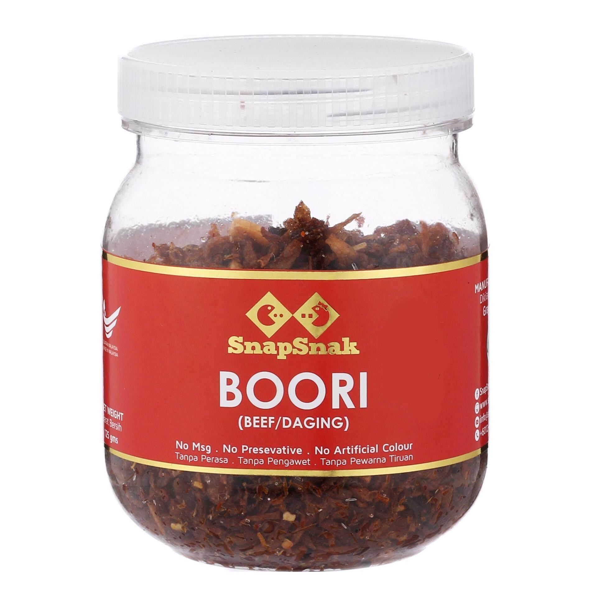 Rayma Solutions New Arrival Segotep Ramadan 3 Snapsnak Boori Beef Daging 125g