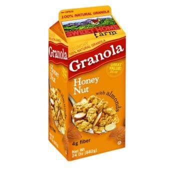 Harga Sweet Home Farm Honey Nut Granola with Almonds (682g)