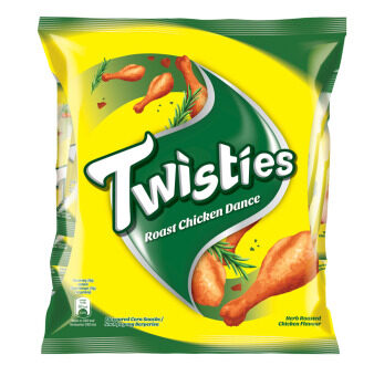 Harga Twisties Corn Snack, Roast Chicken Dance Multipack