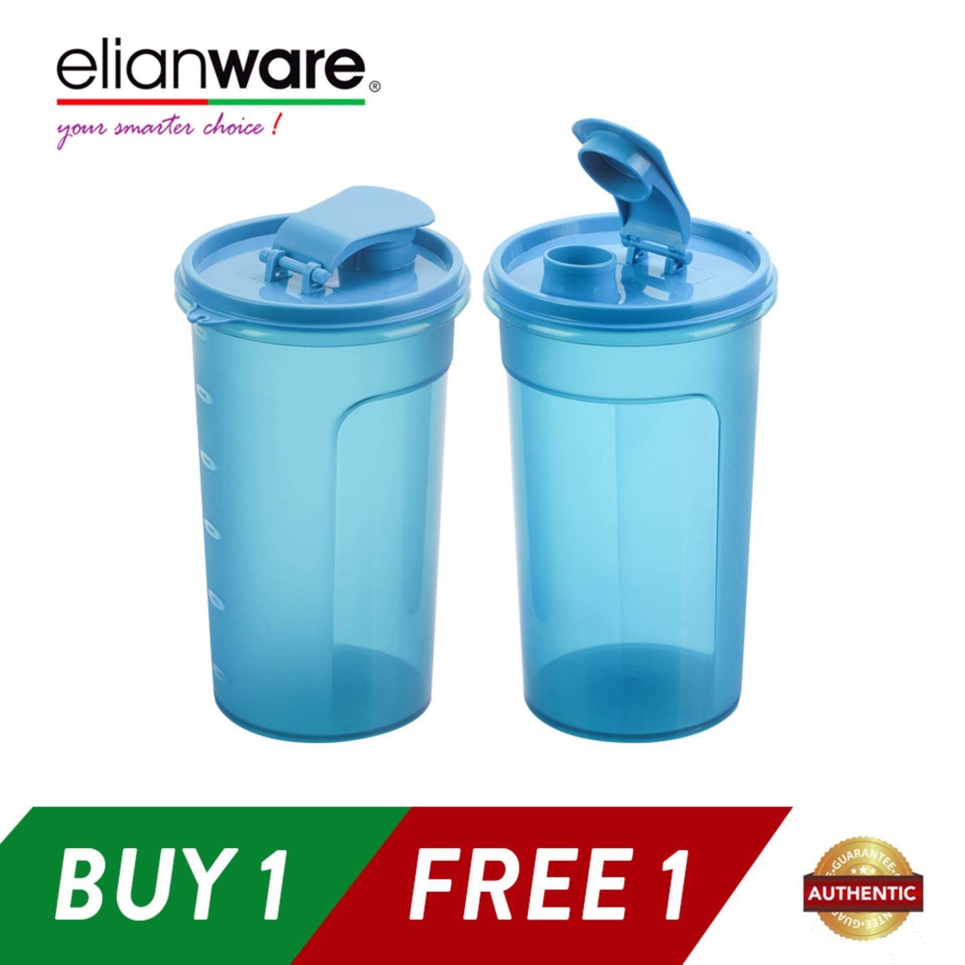 Elianware (BUY1 FREE1) 1.1 Ltr Best Seller Handy Cool E-Fresh BPA Free Water Tumbler Bottle