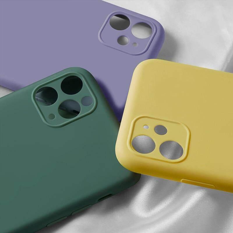 Hình ảnh Mềm Silicone Lỏng Ống Kính Máy Ảnh Bảo Vệ Ốp Điện Thoại Cho Iphone 11pro Max Không Mùi Và Không Độc Hại Ốp Chống Sốc Cho iPhone 11Pro Max