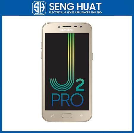 Samsung Galaxy J2 Pro [1.5GB RAM/16GB ROM] Original Samsung Malaysia Set (Gold)