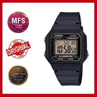 (2 YEARS WARRANTY) CASIO ORIGINAL W-217H-9A YOUTH DIGITAL UNISEX WATCH