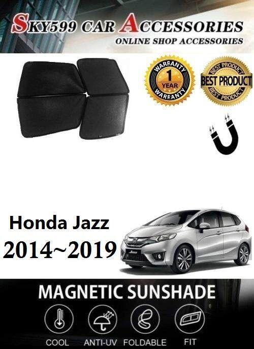 Honda Jazz 2014-2018 Magnetic Sunshade 4pcs