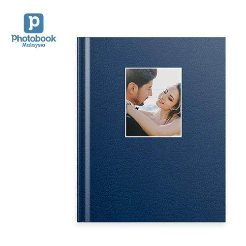"Photobook Malaysia - 8"" x 11"" Medium Portrait Debossed Hardcover Photobook"
