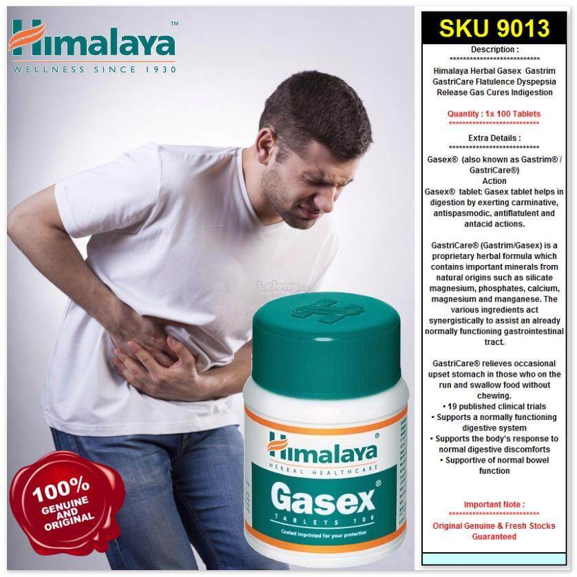 Himalaya Gasex Tablets-60\'s Improves digestion and relieves gaseous distension
