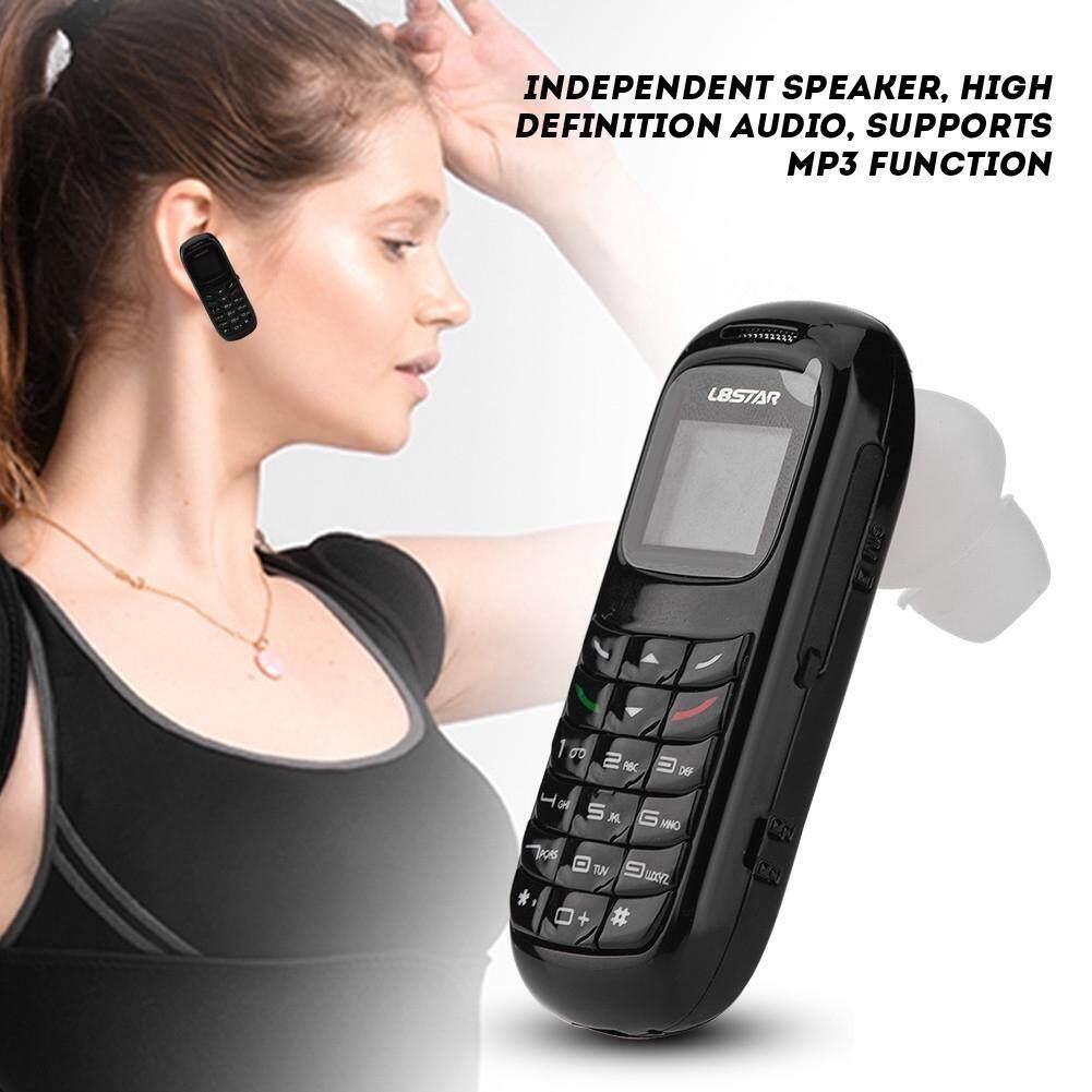Hooks, Tapes & Adhesives - Mini Mobile Phone Bluetooth Dialer Headset Cellphone Earphone Ear Hook - [(BLACK) / WHITE]