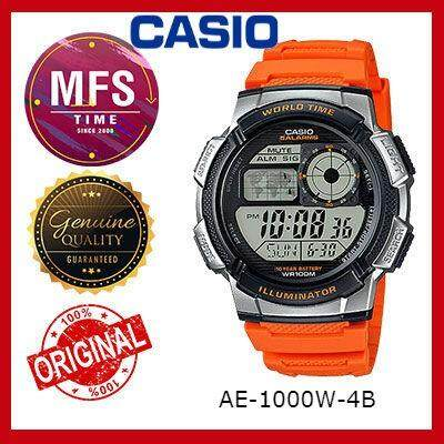 (2 YEARS WARRANTY) CASIO ORIGINAL AE-1000W-4B SERIES STANDARD DIGITAL WATCH