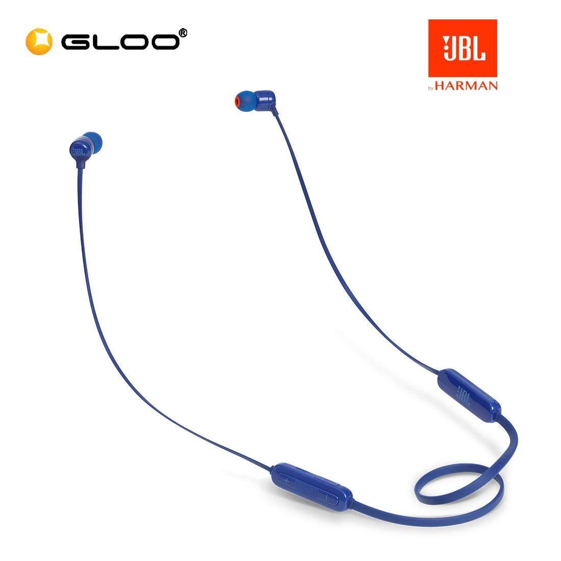 JBL T110BT Blue Headset 050036338530
