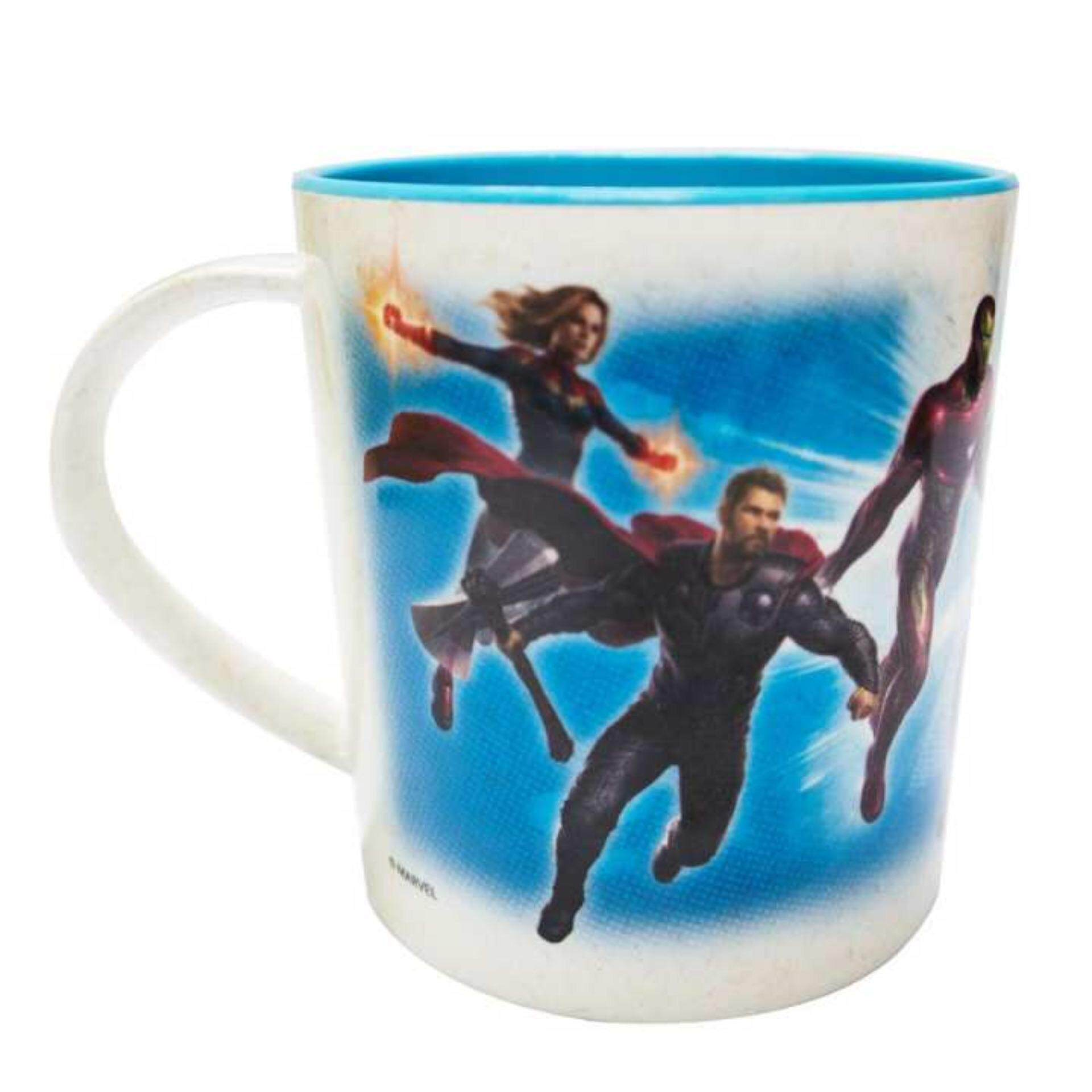 Marvel Avengers Endgame Bamboo Fibre Cup 3.5 Inches - Blue Colour