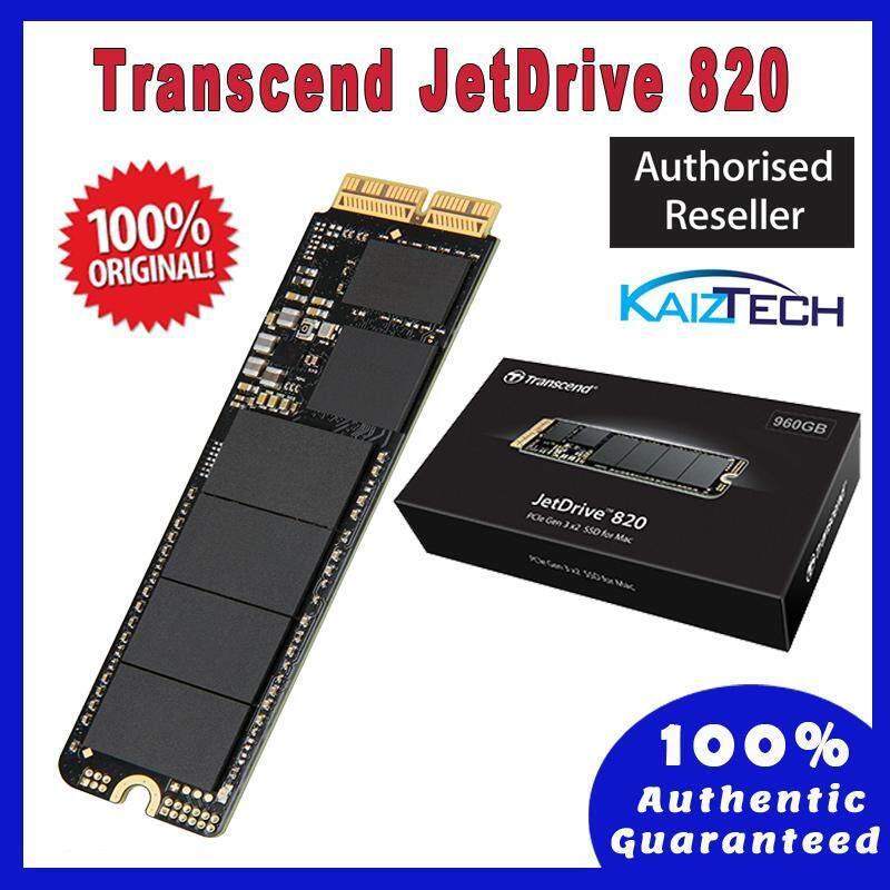 Transcend 240GB SSD JDM820 SATA3 PCIe Solid State Drive / JetDrive 820 Thunderbolt for Mac (TS240GJDM820)  240GB, 480GB, 960GB