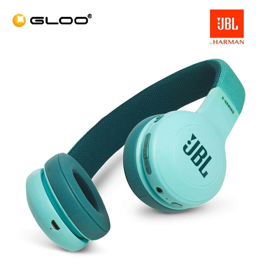 JBL E45BT Wireless On-Ear Headphones (Blue/Red/Teal/White)
