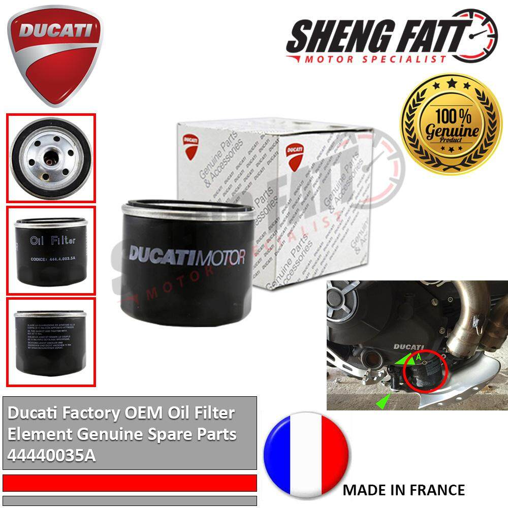 Ducati Factory OEM Oil Filter Element Genuine Spare Parts 44440035A [ORIGINAL]