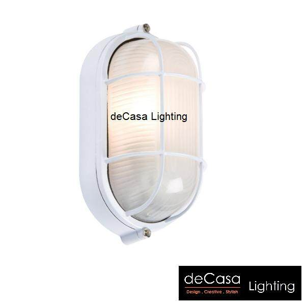 DECASA Wall Light Ceiling Light Bulk Head Large Size Black / White (CM-SY-FA8074-L)