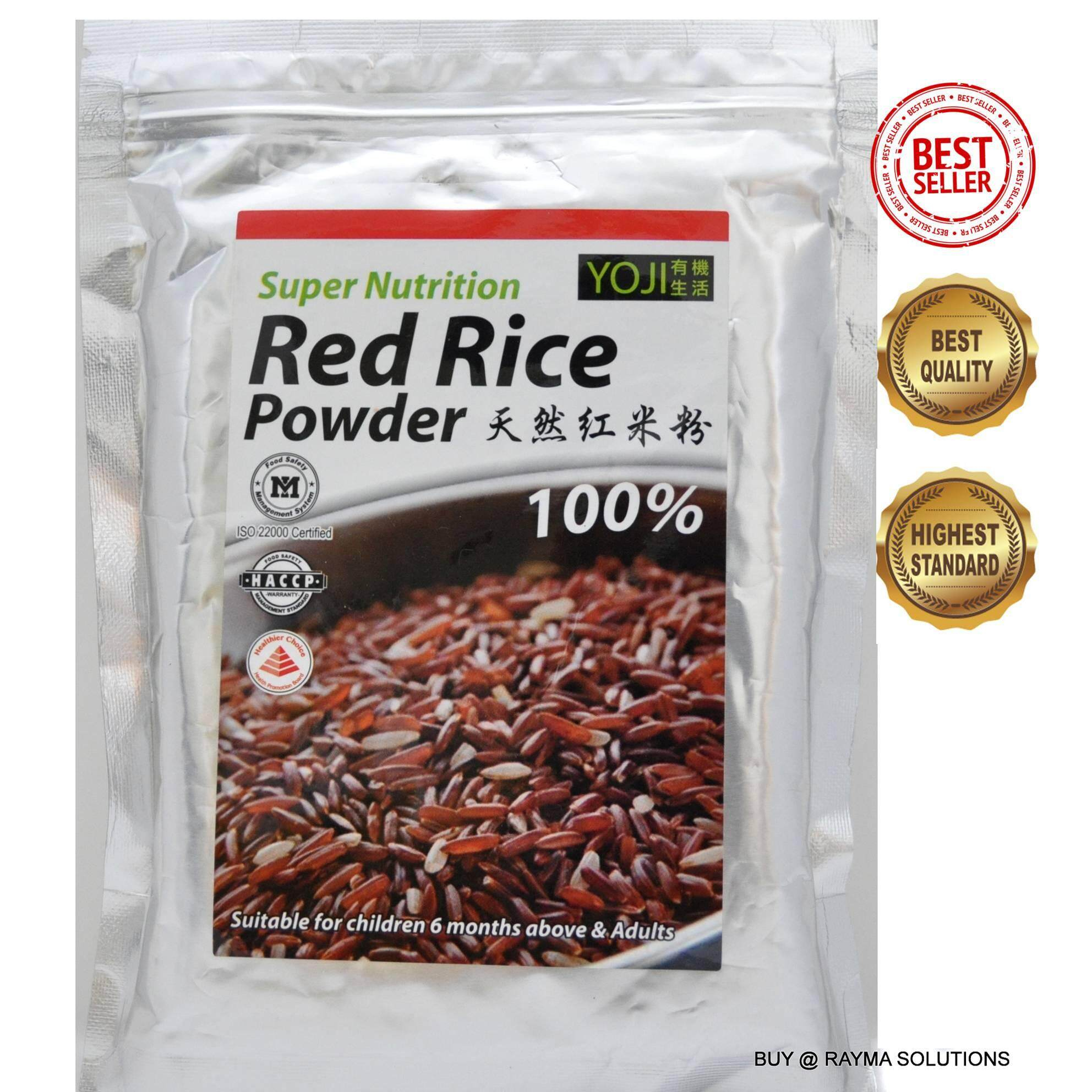 MH FOOD Super Nutrition Red Rice Powder, Suitable for children 6 months above and adults 300g