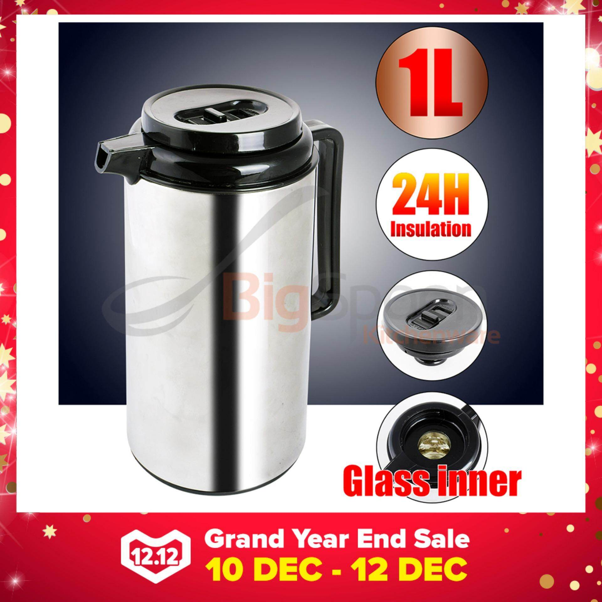 Vacuum Flask Stainless Steel 1.0L[2006B-10]