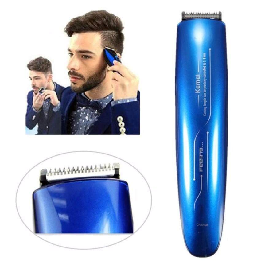 Hair Removal - KEMEI KM-2013 Rechargeable Electric Shaver - [BLUE / RED / GREY]