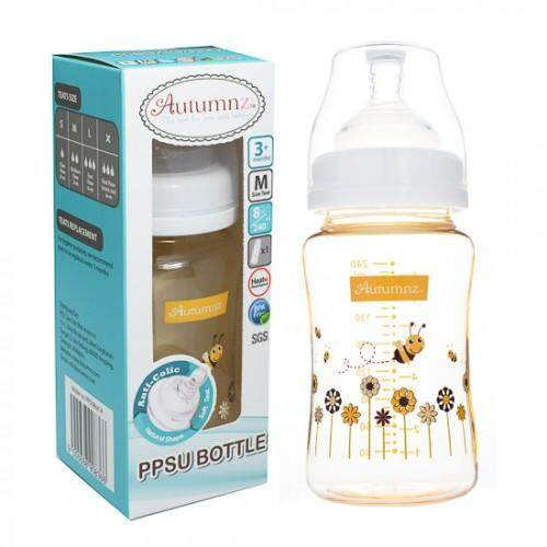 Autumnz - PPSU Wide Neck Feeding Bottle 8oz/240ml