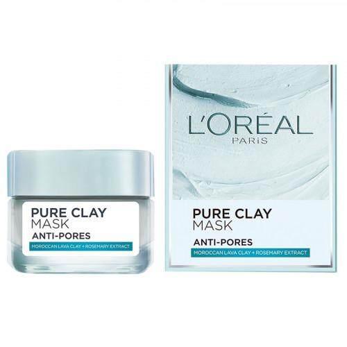 L'Oreal Pure Clay Mask Anti Pores Perfecting 50ml