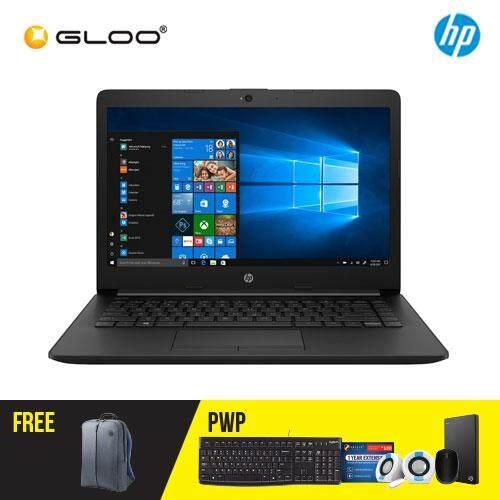 "NEW HP 14-CM0087AU/14-CM0088AU 14"" HD Laptop (AMD A6-9225, 500GB, 4GB, AMD Radeon R4, W10) - Black/Red [Free HP Backpack]"