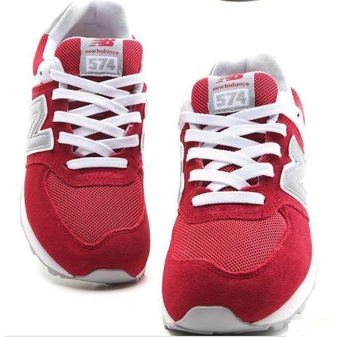 ยี่ห้อนี้ดีไหม  อำนาจเจริญ คลังสินค้าพร้อม Original NB574 รองเท้าผ้าใบ NEW BALANCE รองเท้าวิ่งผู้ชายผู้หญิง