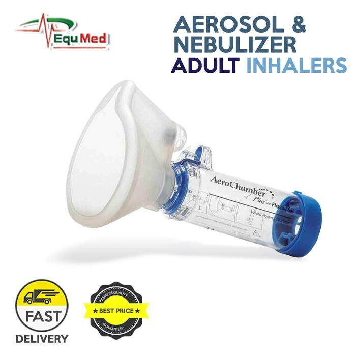 Trees Care Advance AeroChamber for Adult Use with Aerosol and Nebulizer Inhalers