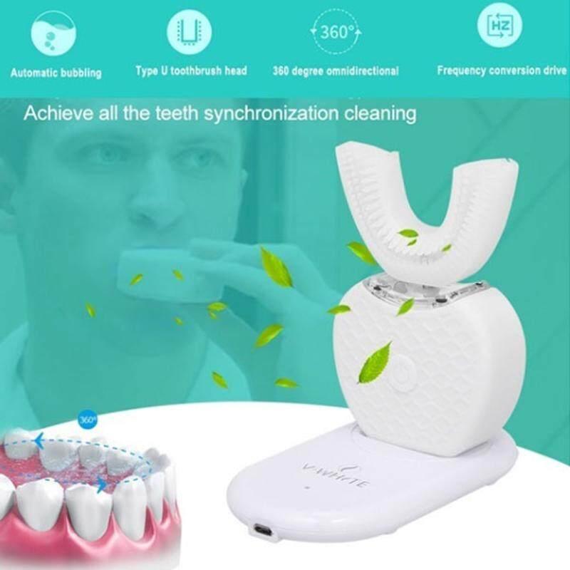 แปรงสีฟันไฟฟ้า ทำความสะอาดทุกซี่ฟันอย่างหมดจด จันทบุรี Mingrui Ultrasonic แปรงสีฟัน 4 สีซิลิกาเจลประสิทธิภาพสูงสบายทำความสะอาดปากครอบครัว
