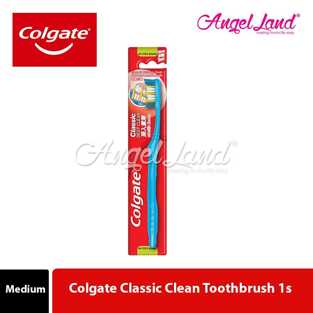 Colgate Classic Clean Toothbrush 1s