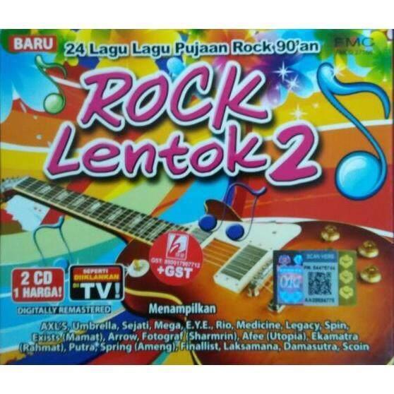 Rock Lentok Vol.2 Pujaan Rock 90 an 2CD Arrow Mamat Exists Rahmat Ekamatra 0aecd5b992