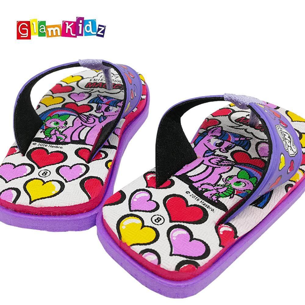 2c7b2001d9a GlamKidz My Little Pony Girls Sandals (Purple)  2540
