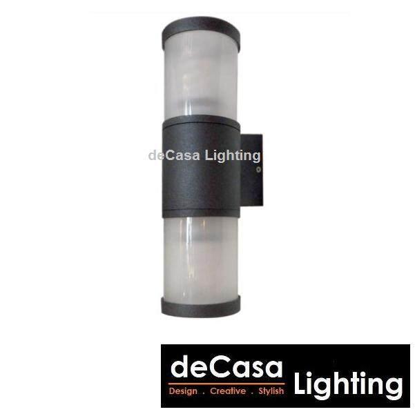 Lampu Dinding Hitam Best Seller Decasa Outdoor Wall Light Wall Lamp Black Updown Effect Light (CM-BD1026-90-BK)