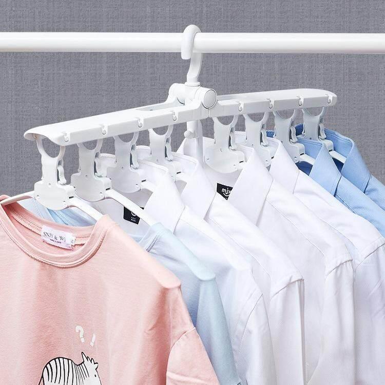 Multifunctional Clothes Hanger Magic Clothes Hanger Retractable Hanger for Retractable Clothes Hanger - Random Colour魔术衣架