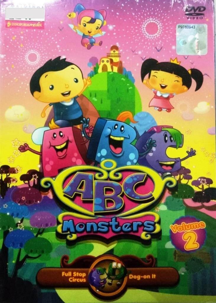 ABC Monsters Vol.2 Anime DVD