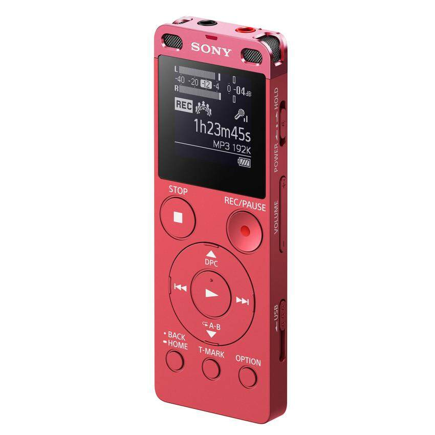 Sony Digital Voice Recorder with Built-in USB ICD-UX560F 4GB (Pink)