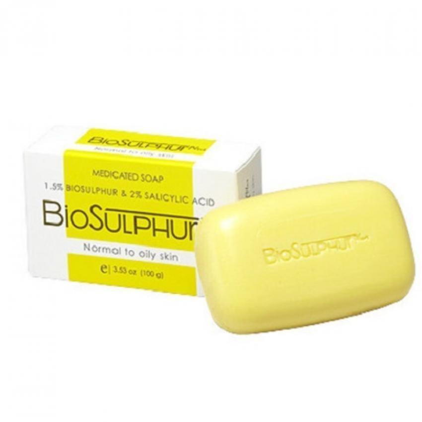 [ 2 ea] Agnesia BioSulphur Plus Medicated Soap 100g
