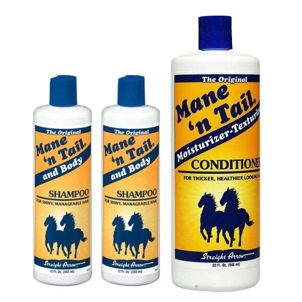 2 x Mane n Tail Original Shampoo 335ml & Conditioner 946ml Set