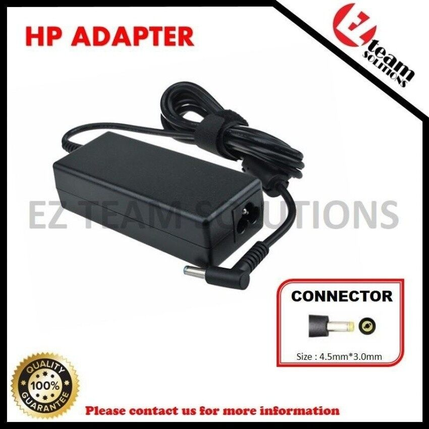 (1 Year Warranty) Replacement Laptop/Notebook AC Square AdapterCharger HP Stream x360 19.5V 3.33A (65W) 4.5*3.0mm - intl
