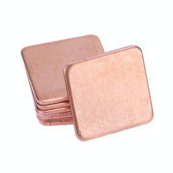 10 pcs 15mmx15mm 0.4mm Heatsink Copper Shim Thermal Pads Malaysia