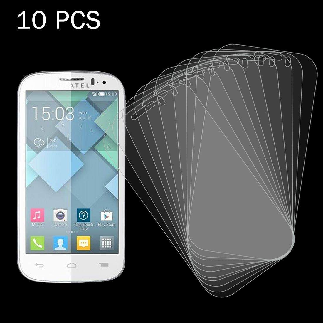 10 PCS for Alcatel One Touch Pop C5 0.26mm 9H+ Surface Hardness 2.5D Explosion-proof Tempered Glass Film - intl