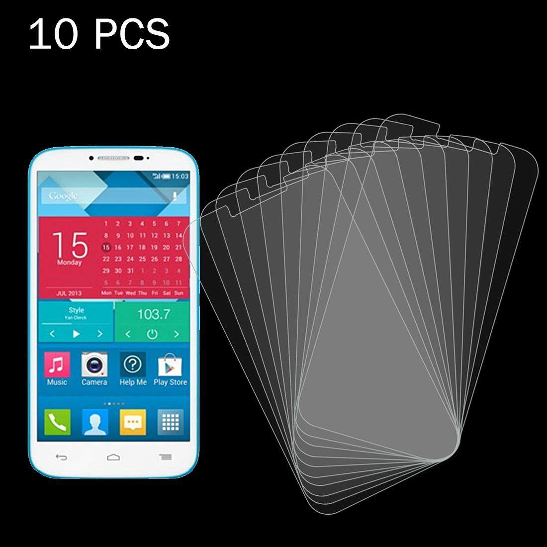 10 PCS for Alcatel One Touch Pop C9 0.26mm 9H+ Surface Hardness 2.5D Explosion-proof Tempered Glass Film - intl