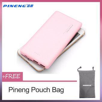100% ORIGINAL POWER BANK PINENG PN958 10000mah PN-958 PN958 PN 958Ultra Slim USB Output 2.1A/1A POWERBANK